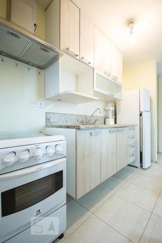 apartamento no 11º andar mobiliado com 2 dormitórios e 2 gar