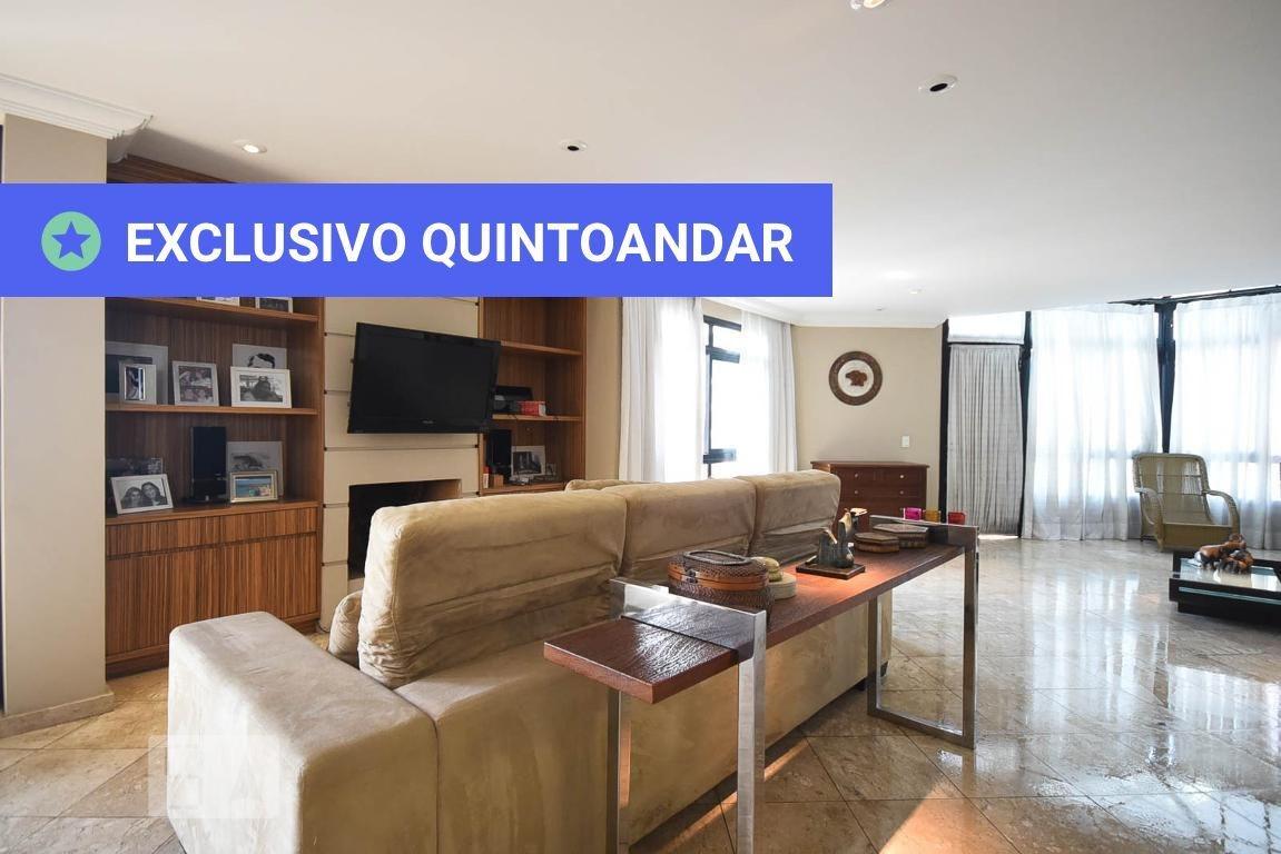 apartamento no 12º andar mobiliado com 3 dormitórios e 4 garagens - id: 892969412 - 269412