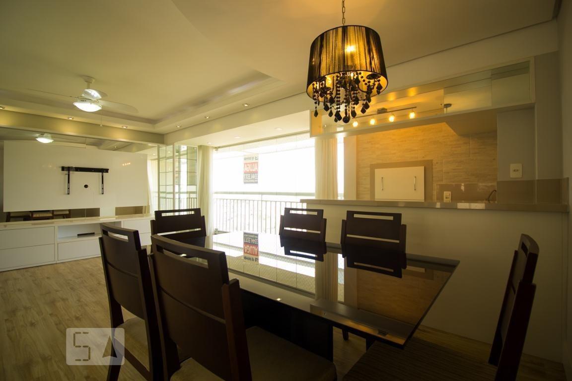 apartamento no 13º andar mobiliado com 3 dormitórios e 2 garagens - id: 892970556 - 270556