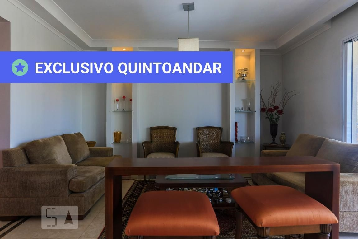 apartamento no 14º andar mobiliado com 4 dormitórios e 4 garagens - id: 892970628 - 270628