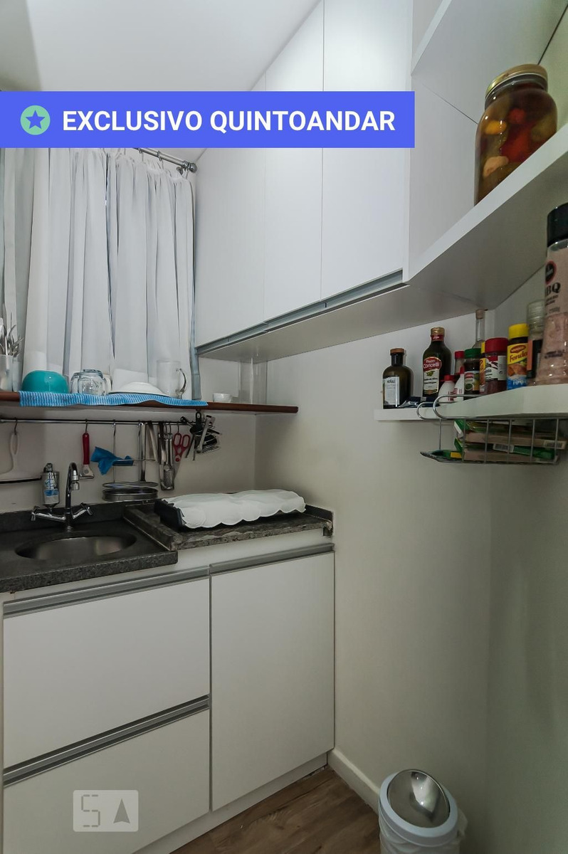 apartamento no 15º andar mobiliado com 1 dormitório e 1 garagem - id: 892969748 - 269748
