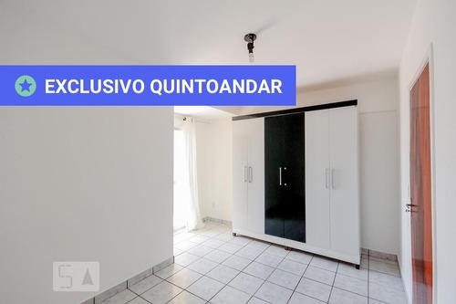 apartamento no 2º andar com 1 dormitório e 1 garagem - id: 892892459 - 192459