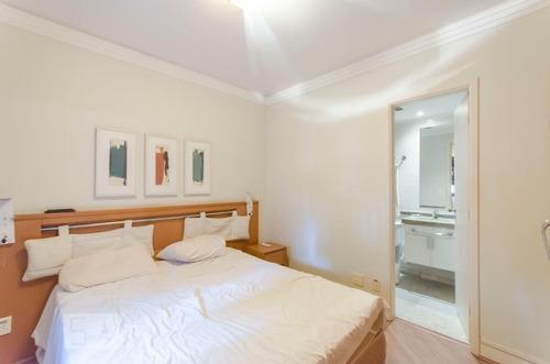 apartamento no 2º andar mobiliado com 3 dormitórios e 2 gara