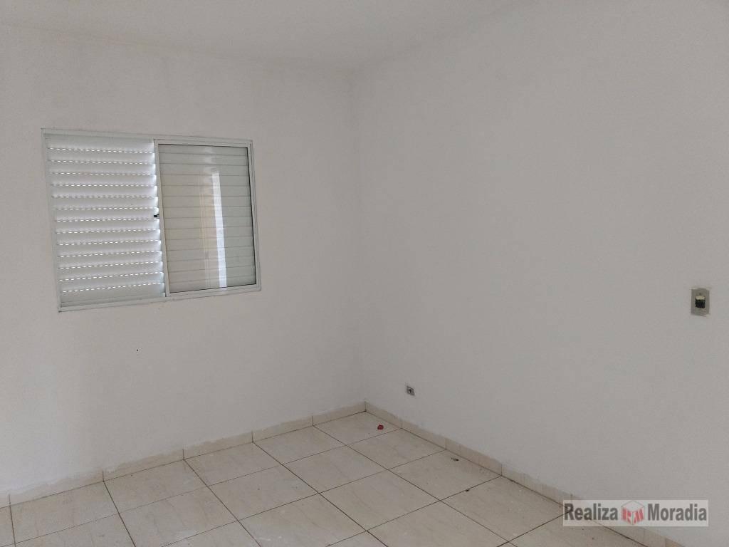 apartamento no 2º andar para locação com 45 m²,  02 dormitórios, 01 vaga na granja viana - ap0351