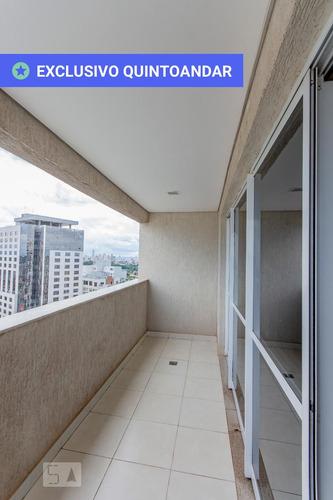 apartamento no 26º andar mobiliado com 1 dormitório e 1 garagem - id: 892882741 - 182741