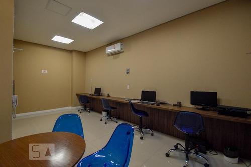 apartamento no 3º andar mobiliado com 1 dormitório e 1 garagem - id: 892955213 - 255213