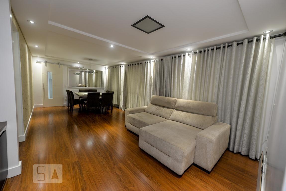 apartamento no 3º andar mobiliado com 3 dormitórios e 2 garagens - id: 892989061 - 289061