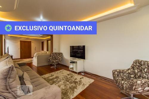 apartamento no 3º andar mobiliado com 3 dormitórios e 3 garagens - id: 892953523 - 253523