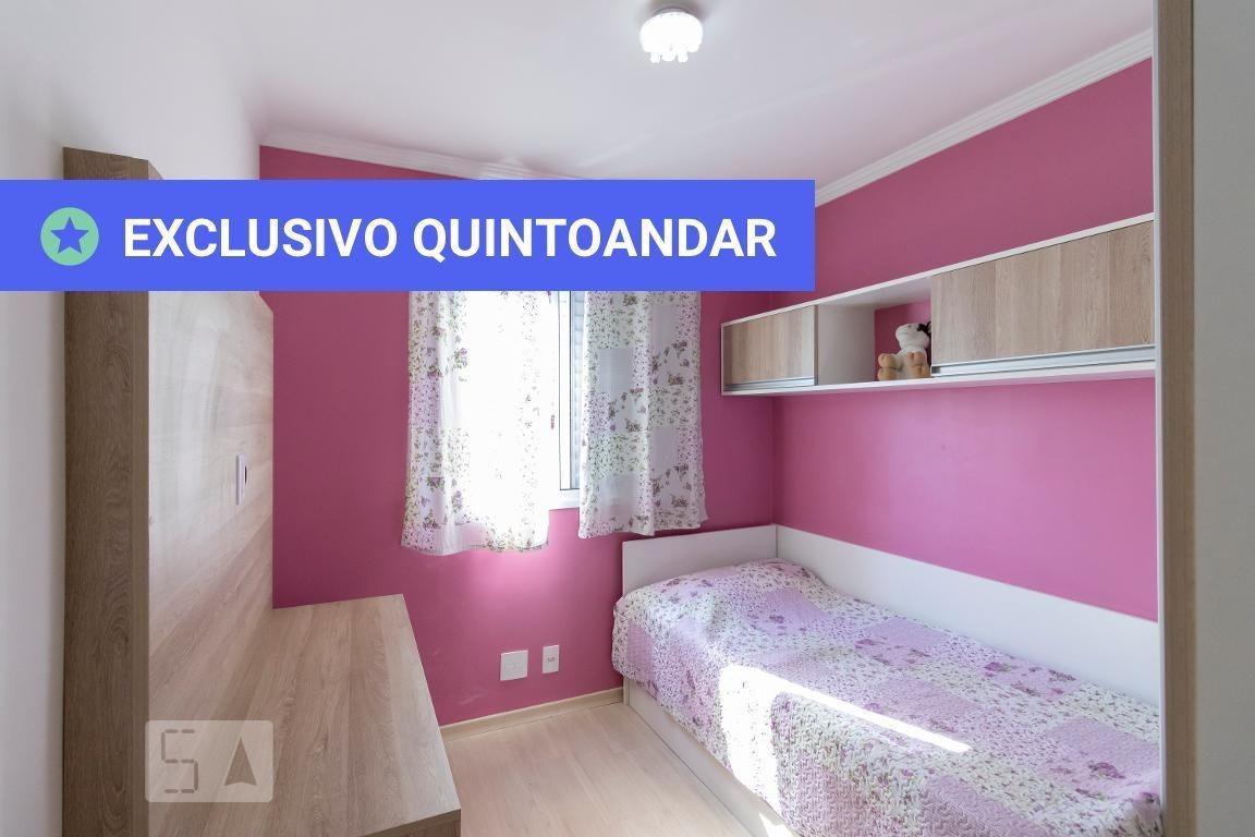 apartamento no 5º andar mobiliado com 2 dormitórios e 1 garagem - id: 892984880 - 284880