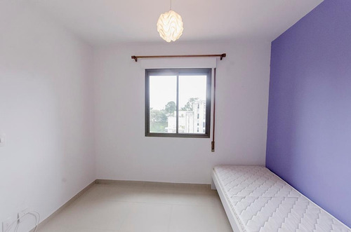 apartamento no 6º andar com 2 dormitórios e 2 garagens - id: