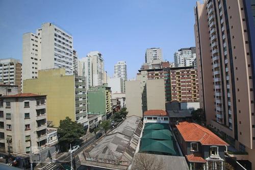 apartamento no 6º andar mobiliado com 1 dormitório e 1 garagem - id: 892962127 - 262127