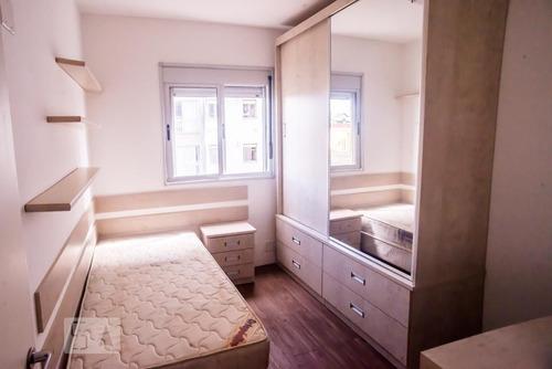 apartamento no 6º andar mobiliado com 2 dormitórios e 1 garagem - id: 892951387 - 251387