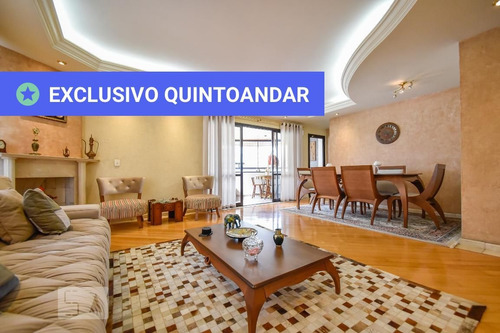 apartamento no 6º andar mobiliado com 4 dormitórios e 3 garagens - id: 892955722 - 255722