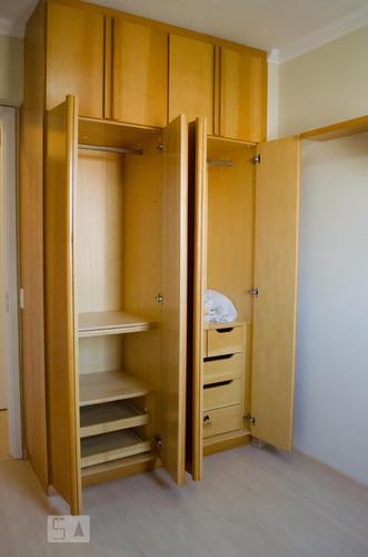 apartamento no 7º andar com 3 dormitórios e 2 garagens - sol