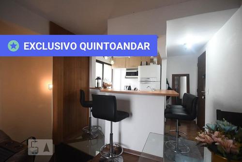 apartamento no 7º andar mobiliado com 1 dormitório e 1 garagem - id: 892883039 - 183039