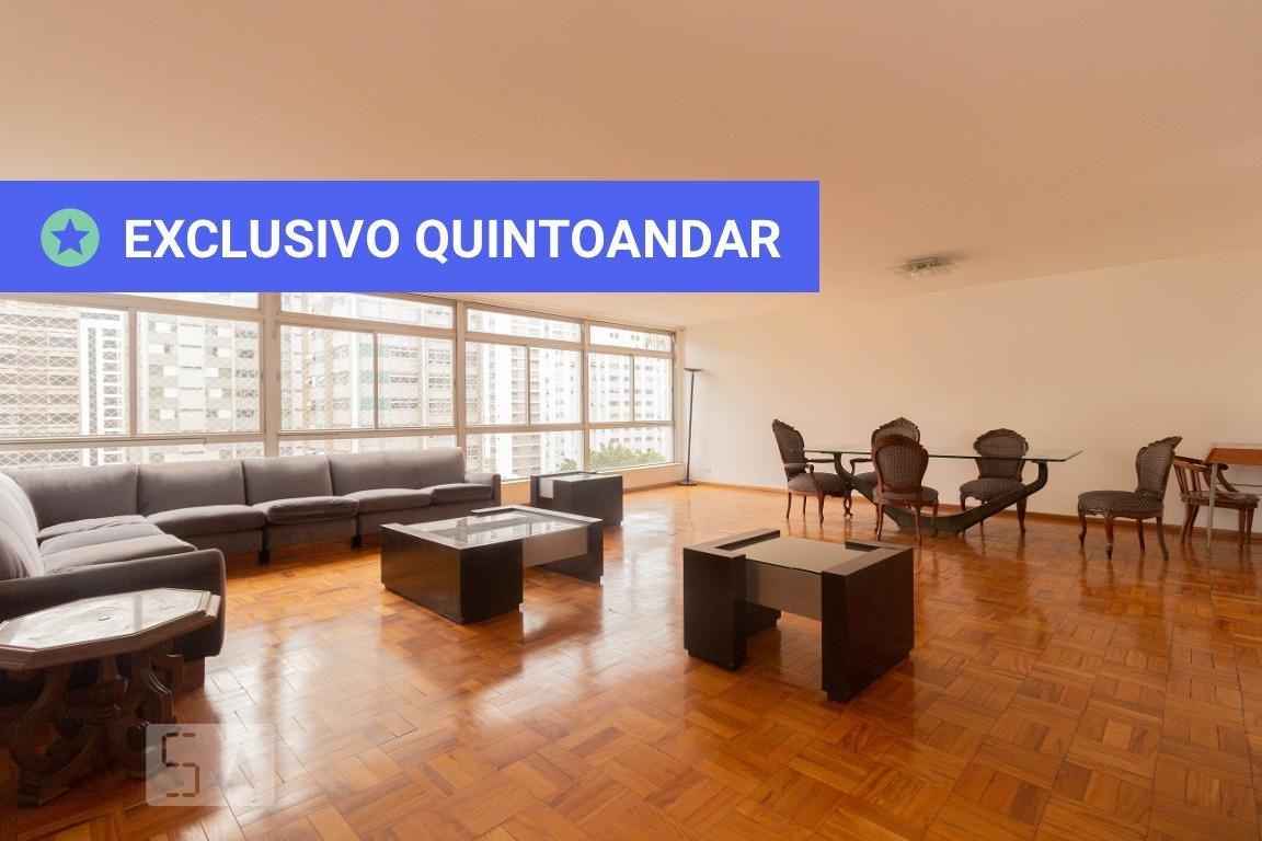 apartamento no 8º andar mobiliado com 3 dormitórios e 1 garagem - id: 892971975 - 271975