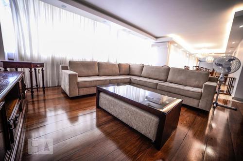 apartamento no 9º andar mobiliado com 5 dormitórios e 2 gara