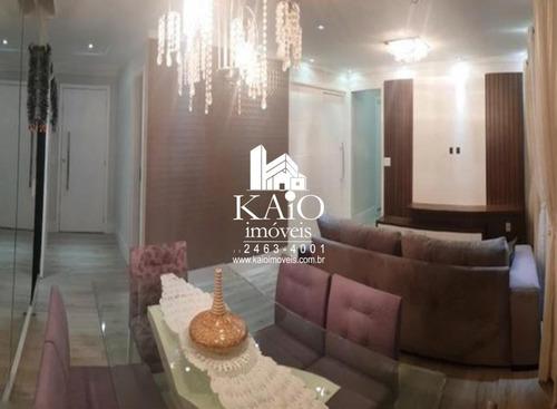 apartamento no alegria de 115m² com 2 dormitórios varanda gourmet 2 vagas - ap1132