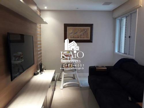 apartamento no alegria de 115m² com 3 dormitórios varanda gourmet 2 vagas - ap1119