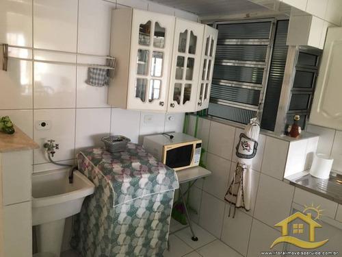 apartamento no bairro centro em peruíbe - 2153