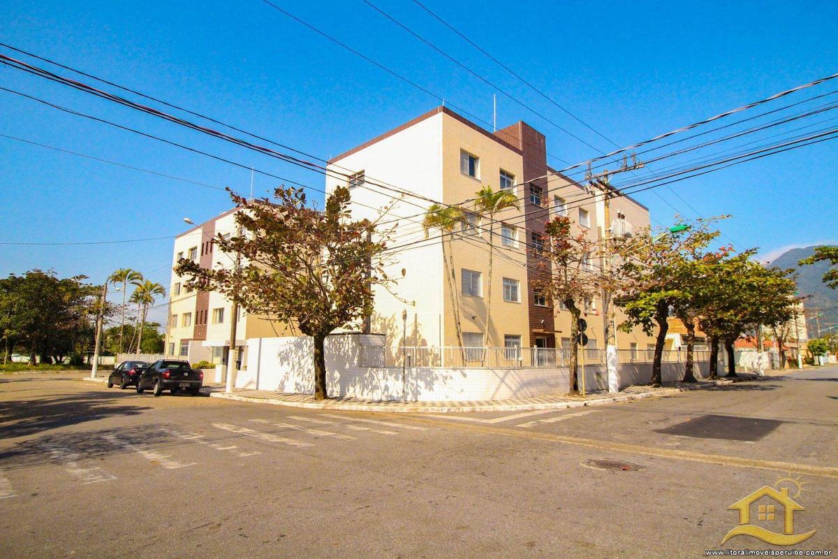 apartamento no bairro centro em peruíbe - lcc-3128