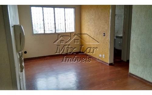 apartamento no bairro cidade das flores - osasco sp, com 54 m², sendo 2 dormitórios, sala, cozinha, banheiro e 1 vaga de garagem