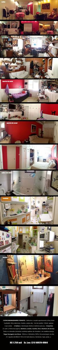 apartamento no bairro de copacabana! - 910