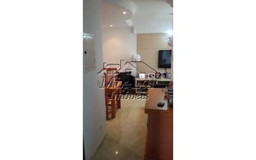 apartamento no bairro do jaguaribe - osasco sp, com 65 m²