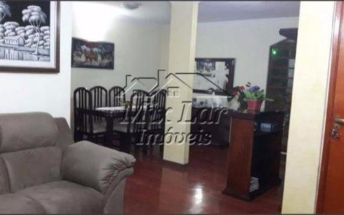 apartamento no bairro do jardim cipava - osasco sp, com 145 m², sendo 3 dormitórios , sala, cozinha, banheiro e 2 vagas de garagens