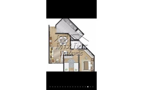 apartamento no bairro do jardim joelma - osasco sp, com 55 m², sendo 2 dormitórios, sala, cozinha, banheiro e 1 vaga de garagem