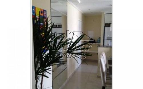 apartamento no bairro do jardim tupanci - barueri sp, com 72 m², sendo 2 dormitórios com 1 suíte, sala, cozinha, banheiro e 1 vaga de garagem.