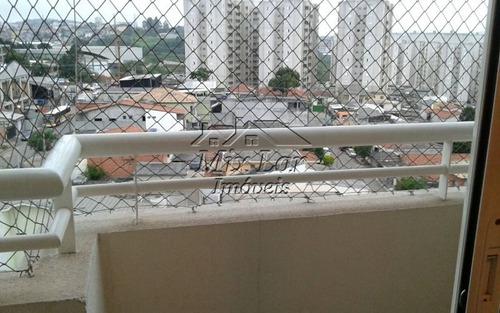 apartamento no bairro do jardim tupanci - osasco sp, com 59 m²