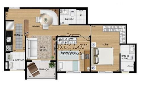 apartamento no bairro do jardim umuarama - osasco sp, com 57 m²