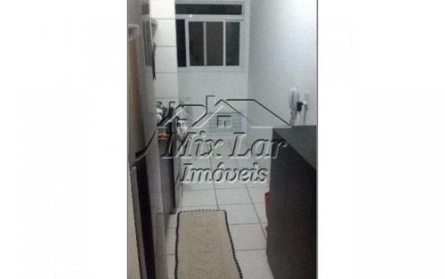 apartamento no bairro do umuarama - osasco sp, com 50 m², sendo 2 dormitórios, sala, cozinha, banheiro e 1 vaga de garagem