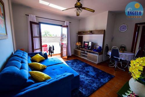 apartamento no bairro oásis em peruíbe - 1765