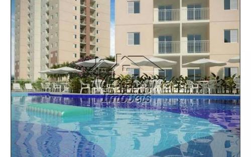 apartamento no bairro presidente altino - osasco sp, com 49 m², sendo 2 dormitórios, sala, cozinha, banheiro e 1 vaga de garagem.