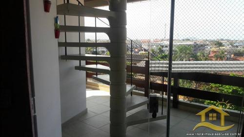 apartamento no bairro samburá em peruíbe - 2035