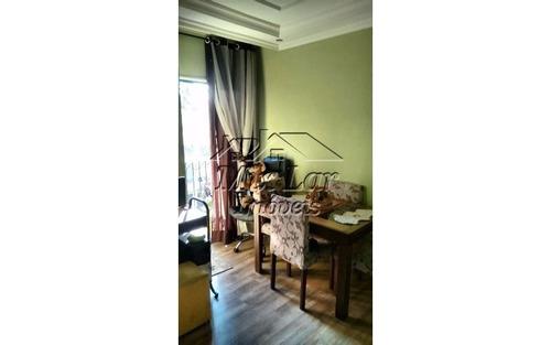 apartamento no bairro vila marcondes - carapicuíba sp, com 53 m², sendo 2 dormitórios, sala, cozinha, banheiro e 1 vaga de garagem