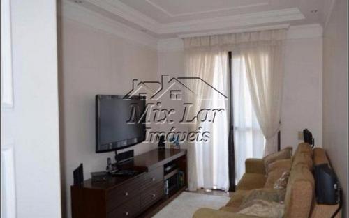 apartamento no bairro vila menk  osasco - sp, com 62 m², sendo 2 dormitórios com 1 suíte, sala, cozinha, banheiro e 2 vagas de garagens