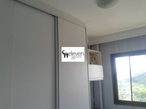 apartamento no brisas residencial para venda paralela, salvador 2 dormitórios, 1 sala, 1 banheiro, 1 vaga coberta,68 m². - tdz7073 - 31996487
