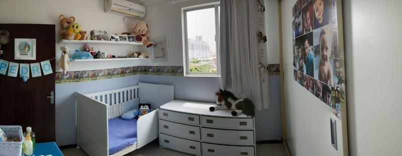 apartamento no bucarein 01 suíte + 02 | estuda permuta por imóvel de maior valor - sa00889 - 34263074