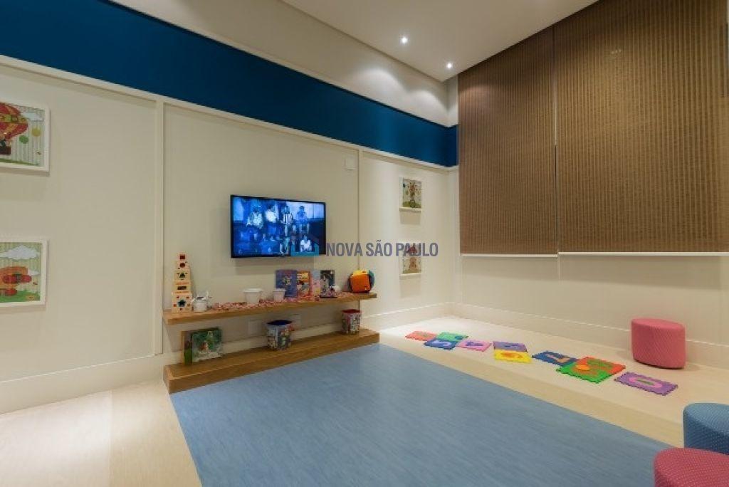 apartamento no campo belo, cinematográfico, 1 dormitório, andar alto, sacada, depósito - bi26611