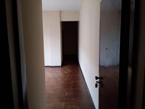 apartamento no centro com 3 quartos para locação, 95 m² - la438