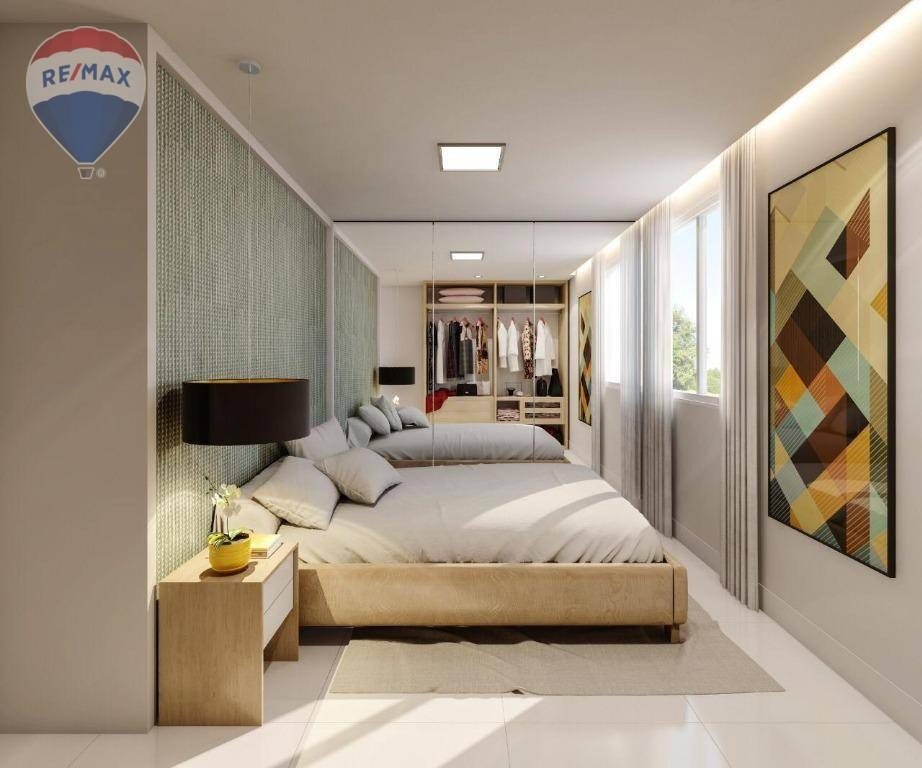 apartamento no centro de caucaia próximo ao shopping iandê - gran village caucaia - ap0250