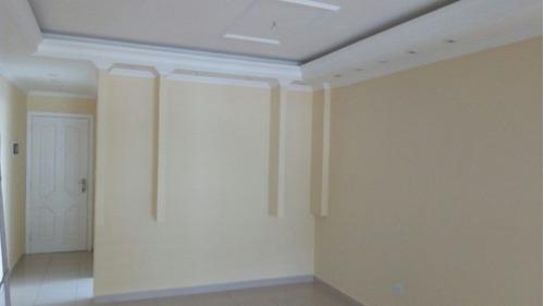 apartamento no centro de mongaguá. lindo! c6525