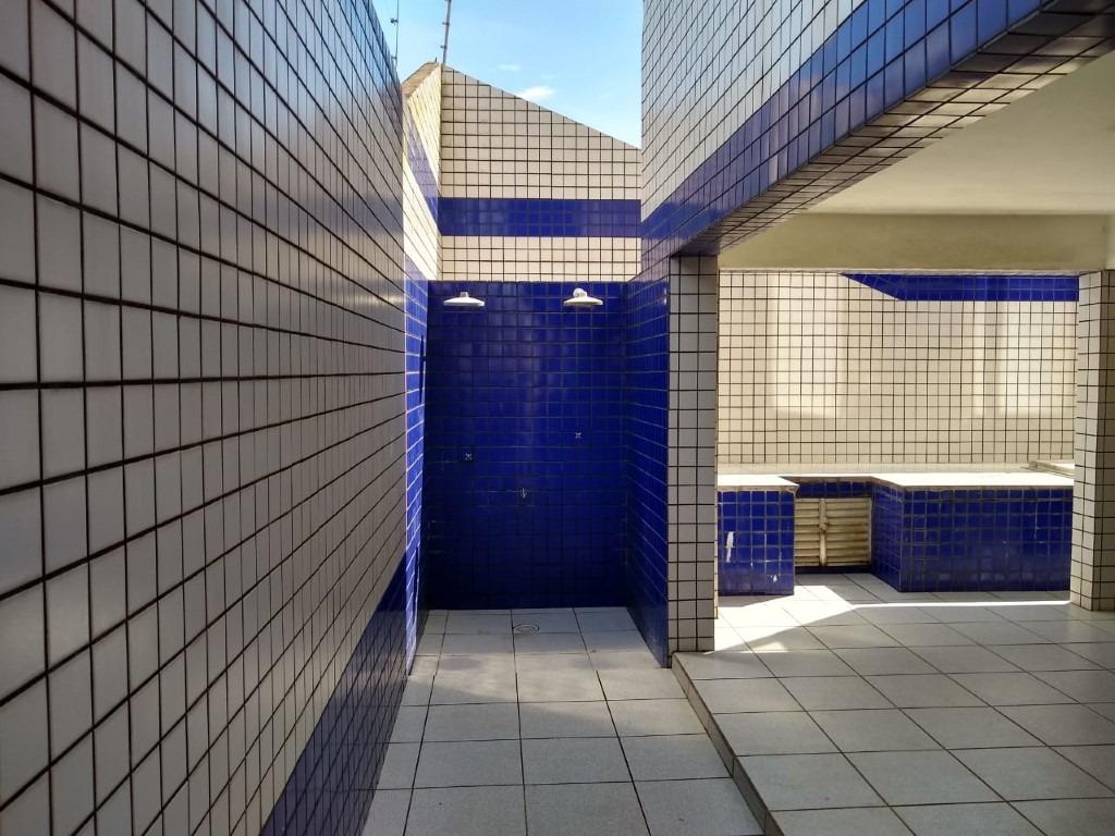 apartamento no centro  de mongaguá!  ref. ap0004