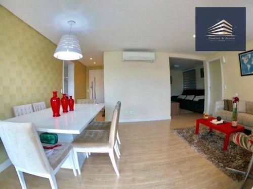 apartamento no condomínio alegria, 114m², 3 dormitórios, 1 suíte, 2 vagas, estuda permuta. - ap0777