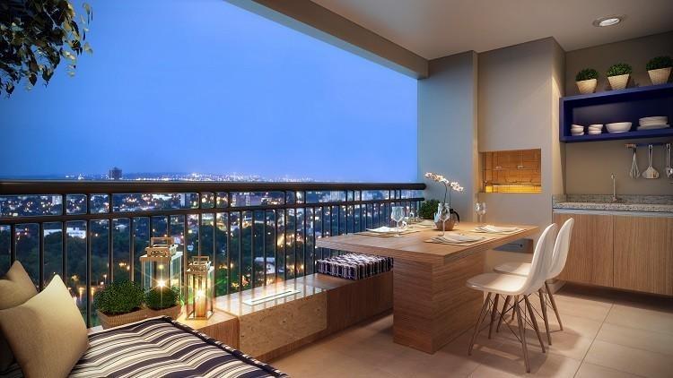 apartamento no condomínio art & life residencial clube
