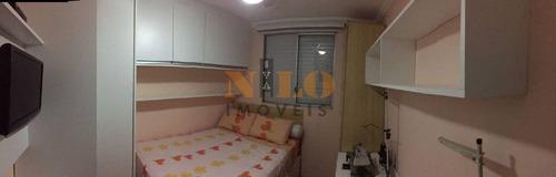 apartamento no condomínio nações unidas - terminal grajaú - 195