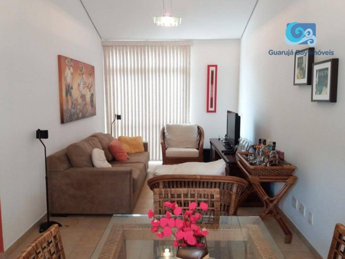 apartamento no condomínio pantai, praia da enseada - guarujá - ap4600